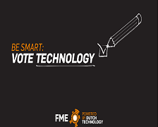 Be Smart: Vote Technology!
